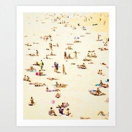 Summer #society6 #decor #buyart Art Print