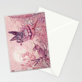 Tuscan Red Moondance Stationery Cards