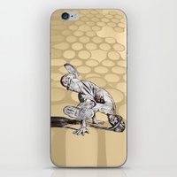 hiphop iPhone & iPod Skins featuring B BOY - vanguard style by ARTito