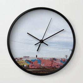Welcome to Corktown - Detroit, MI Wall Clock