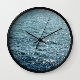 The Sparkle of the Sea Wall Clock
