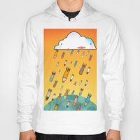 cloud Hoodies featuring Cloud by R.E.L