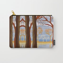 Autumn Leaves Autumn Woods Carry-All Pouch
