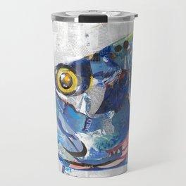 Fish Collage Travel Mug