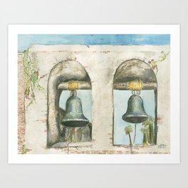 Mission Bells Art Print