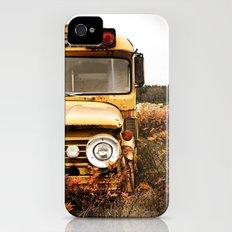 School Bus Neglect Slim Case iPhone (4, 4s)