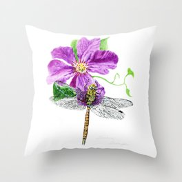 A Moment In Time by Teresa Thompson Throw Pillow