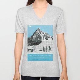 Mount Everest, 1952 (Vintage Movie Poster) Unisex V-Neck