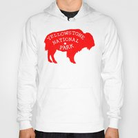 the national Hoodies featuring Yellowstone National Park  by Terry Fan