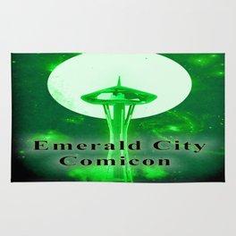 EMERALD CITY COMICON Rug