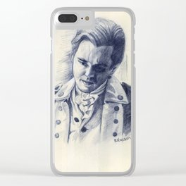 Major Tallmadge Clear iPhone Case