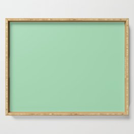 Sea glass Green, Solid Color Collection Serving Tray