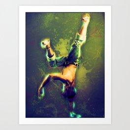 Street Dancer Art Print