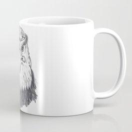 Isolated eagle background Coffee Mug