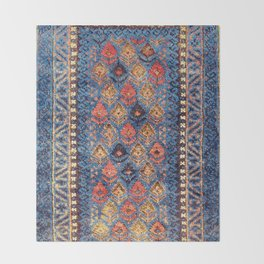 Baluch Balisht Khorasan Northeast Persian Bag Print Throw Blanket