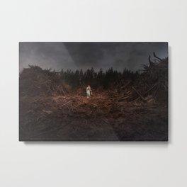The Fallen Forest Metal Print