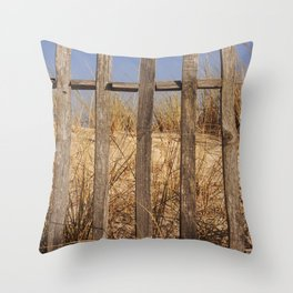 Fence to the Sky! Throw Pillow