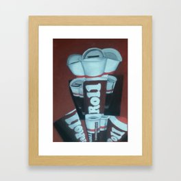 Tootsie Roll Framed Art Print
