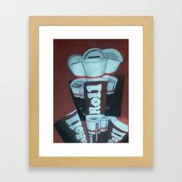 Tootsie Roll Framed Art Print