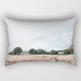 Wheat field in Scotland Rectangular Pillow