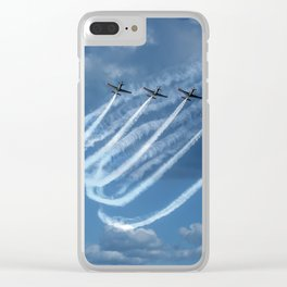 Brave Five Clear iPhone Case