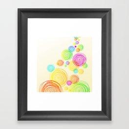 Circle Tower Framed Art Print