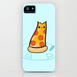 Purrpurroni and Cheese - Pizza Cat iPhone Case