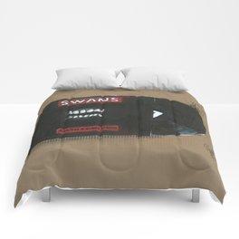 Diddie Doodle Swans Filth Comforters