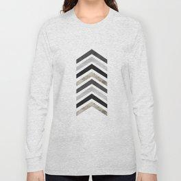 Arrow Geometric Long Sleeve T-shirt