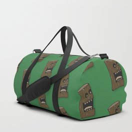 The call of nature, screaming log Duffle Bag