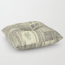 Architectural Elements Floor Pillow