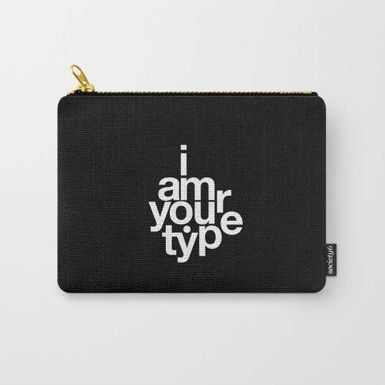 HELVETICA! Carry-All Pouch