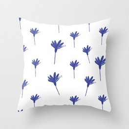 Winter Holiday Pattern Throw Pillow