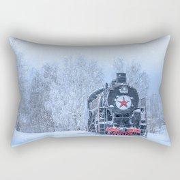 Time train Rectangular Pillow