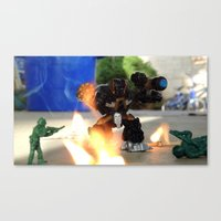 transformer Canvas Prints featuring Transformer  by nick94