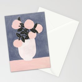 Posy Blue Stationery Cards