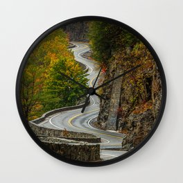 Hawk's Nest New York State Wall Clock