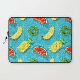 Pool Party pineapple, watermelon,banana,kiwi Laptop Sleeve