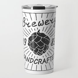 Brewery Handcrafted Fashion Modern Design Print! Beer style Travel Mug