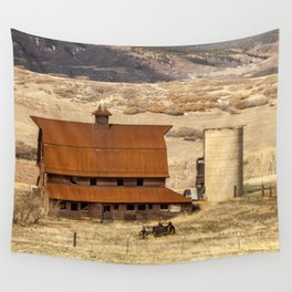 Denver Farm Wall Tapestry