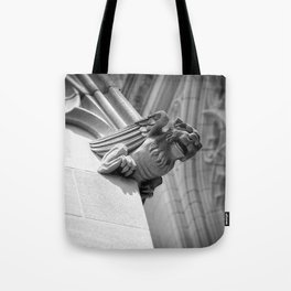 Smiling Gargoyle Tote Bag