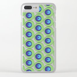 Olive in the Middle-Green Clear iPhone Case
