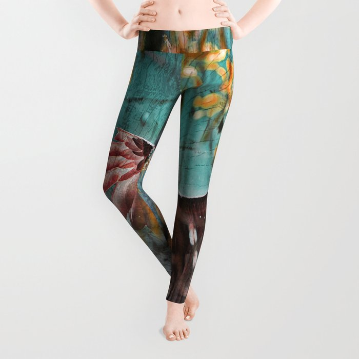 Vulture Rise of the Fire Wizard Leggings