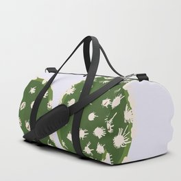 Desert Bunny - Bunny Ears Cactus Purple and Green Duffle Bag