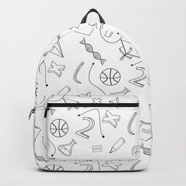 School pattern Backpack