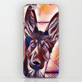 The King Shepherd iPhone Skin