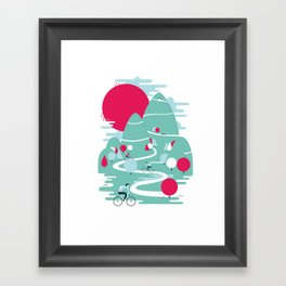 Le tour Framed Art Print