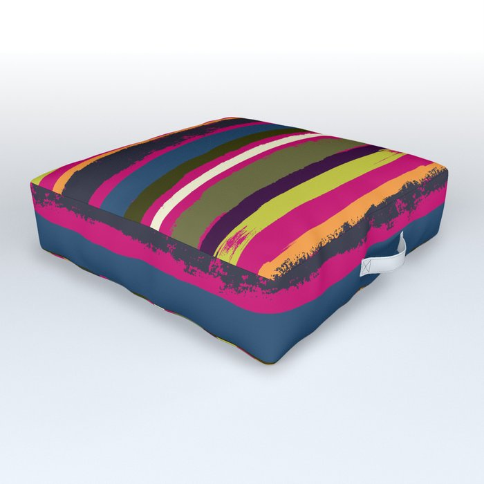 Spurious Rainbow Outdoor Floor Cushion