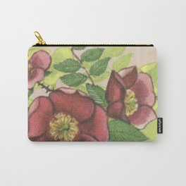 Provincial Flowers - Alberta Carry-All Pouch