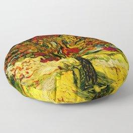 Van Gogh Mulberry Tree Floor Pillow